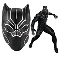 Anime Movie Cosplay Halloween Prop Captain America: Civil War Helmet Cosplay Black Panther Helmet T'Challa Helmet Mask Party