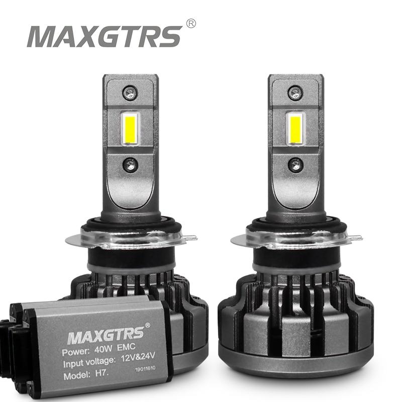 2x H1 H4 H7 H8 H11 9005 9006 9012 HB3 HB4 Car Led Headlight Conversion Kit Light Canbus 80W Auto Headlamp Repalcement Bulb Lamp