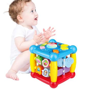 Early Teaching Funny Room Cubic Baby's Toy Music Light Multi-functional Hexahedron Game Console Wisdom Toy Room Kids Toy