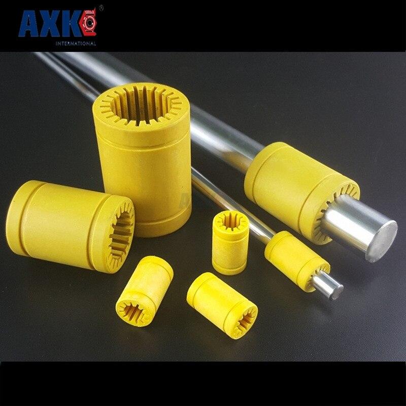 где купить 3d printer bearing 30mm bearing engineering plastic bearing LM30-S solid plastic bearing LM30UU 30mm дешево