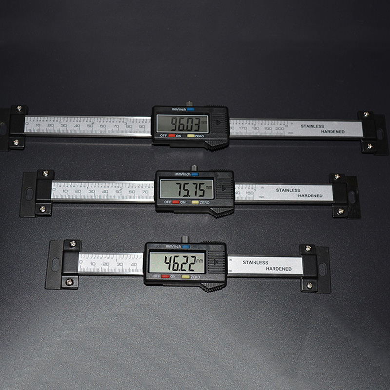 0 150mm Digital Horizontal Scale Units Horizontal Electronic Scale Unit LCD Display Inch MM Machinist Tools