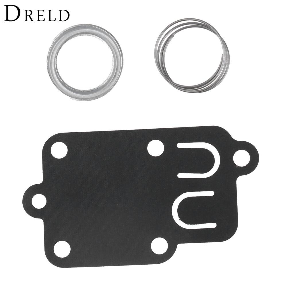 DRELD Carburetor Carb Repair Kit Gasket Diaphragm For Briggs Stratton 270026 272538 272538S 272637 4157 5021 3 Thru 5 Hp Tiller
