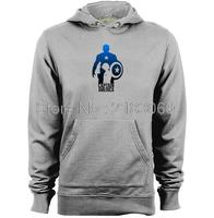 Marvel Super Heroes Avenger Captain Amerika Mens & Womens Trendy Casual Hoodies
