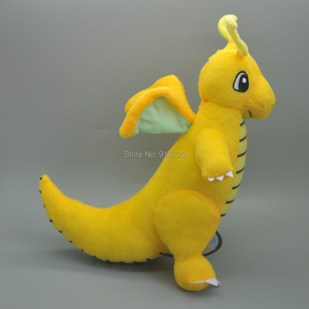 """10/Lot Dragonite 9 """"# S Plüsch Puppe Weiche Anime Cartoon Für Kinder Geschenke Stofftiere-in Filme und TV aus Spielzeug und Hobbys bei  Gruppe 3"""
