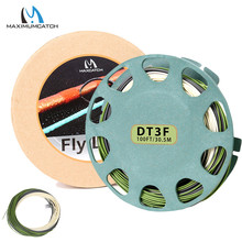 Maximumcatch 90ft 3/4/5/6wt Real Troutlite Double Taper Floating Fly Fishing Line with 2 Welded Loops Fly Line