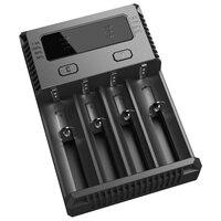 Nitecore New I4 Battery Automatic Current Select IntelliCharger IMR Ni MH/Ni CD Li ion18650 16340 10440 AA AAA 14500 26650 18490