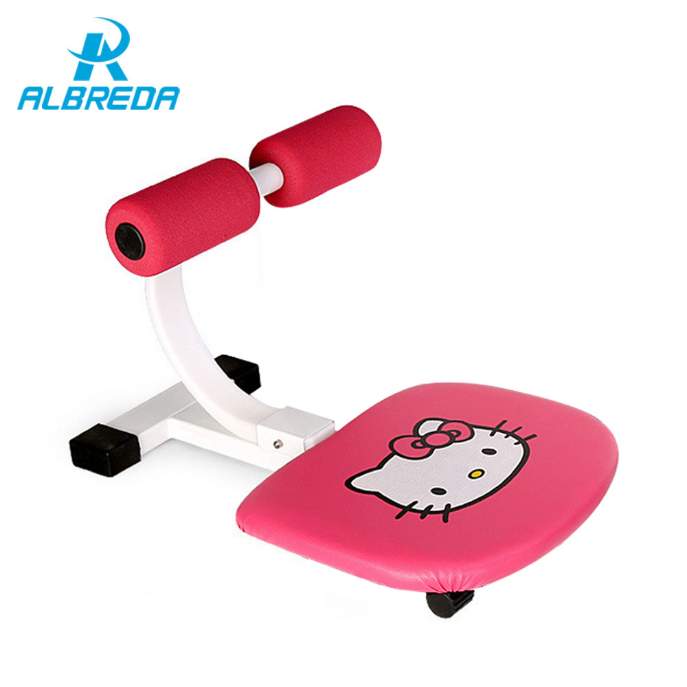 ALBREDA Exercise abdominal muscles Equipment Thin waist device fitness machines for home massage equipment Sit-ups Family gym wave shape sit ups abdomenizer home fitness equipment multifunctional health web