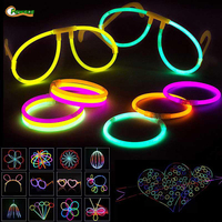 337 Pcs/lot Party Fluorescence Light Glow Sticks Glow Glasses Bracelets Headband Neon Wedding Party Props For Wedding Decoration