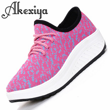 2016 New Casual Women Shoes Wedge Shoes Platform Health Women Zapatos Mujer Increased canvas Fashion Breathable
