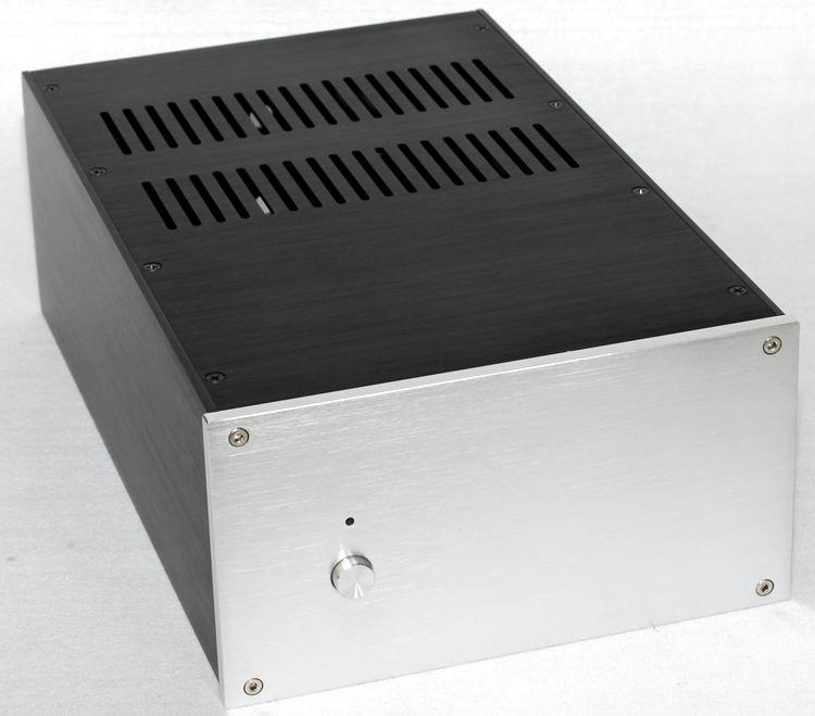 WA120 Aluminum Audio Amplifier Chassis Mono Amp Enclosure DIY HiFi Case Shell 225*120*351mmWA120 Aluminum Audio Amplifier Chassis Mono Amp Enclosure DIY HiFi Case Shell 225*120*351mm