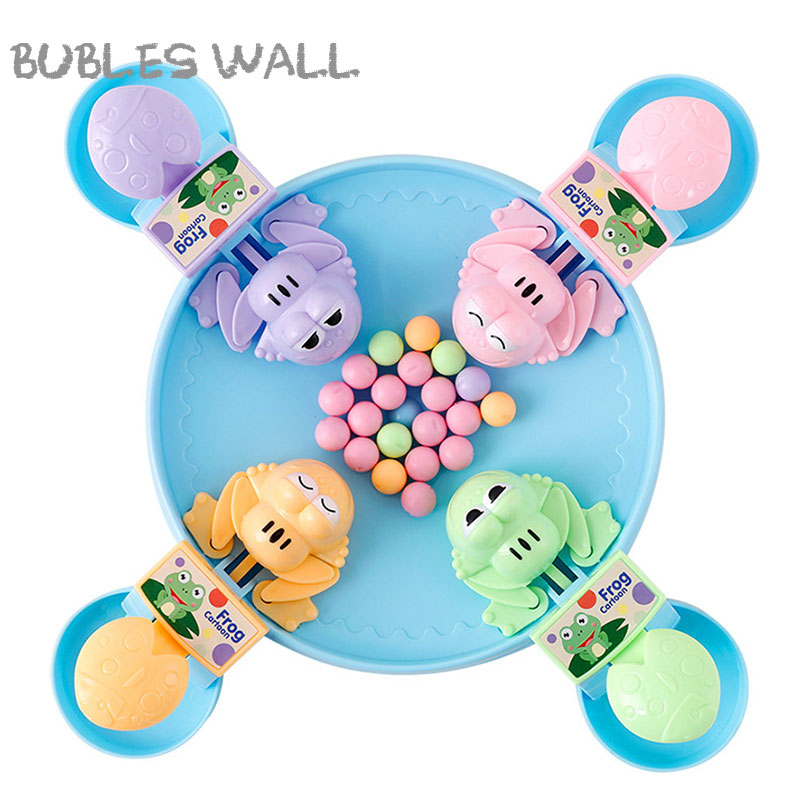 Classic Toys montessori Feeding small frog swallowing beads eating beans casual brain action board games parent-child games