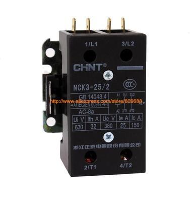 original CHINT AC220V Air conditioning AC contactor NCK3-25/2 25A NCK3-32/2 32A 220Voriginal CHINT AC220V Air conditioning AC contactor NCK3-25/2 25A NCK3-32/2 32A 220V