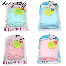1PCS Dry Paste Headband Bath Towel Cosmetic Make-up Scarf Bathing Washing Accessory wwholesale Dec 21