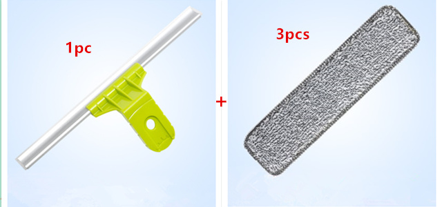 1pc cleaning brush 3pcs cleaning cloth accessories for Upgraded Telescopic High-rise Window Cleaning Household cleaning tools