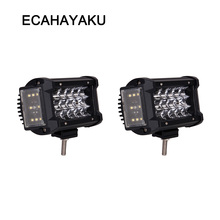 ECAHAYAKU New design 270 degree Offroad Led Work Light Bar For Car Combo Beam Off road Tractor Boat Trucks Excavator 12V 24V ATV