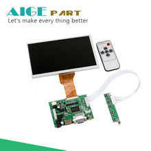 Discount! 9 Inches Raspberry Pi LCD Display Screen TFT Monitor AT090TN12 with HDMI VGA Input Driver Board Controller