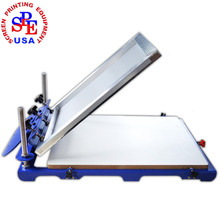 SPE6252 Mirco Screen Press pallet size 62*52cm single color screen printing machine