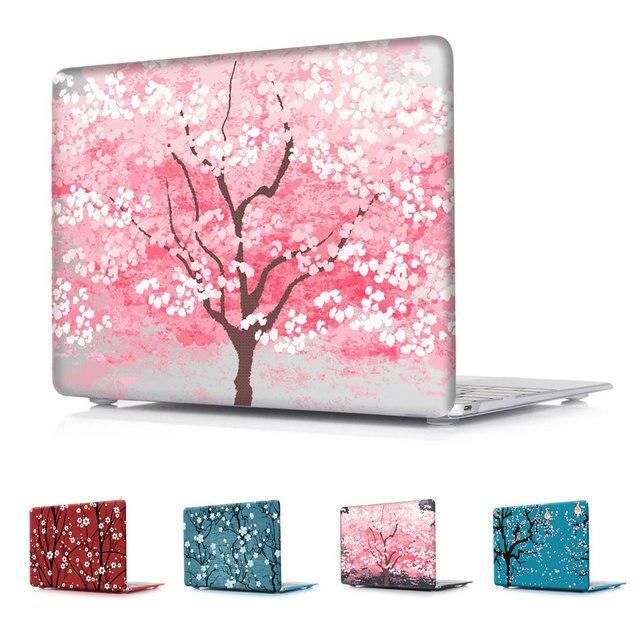 Красивые романтические цветущей Сакуры Розовый печатных чехол Воздуха 11 12 13 Pro 13 15 для MacBook Pro 13.3 15.4 ''с Retina крышка