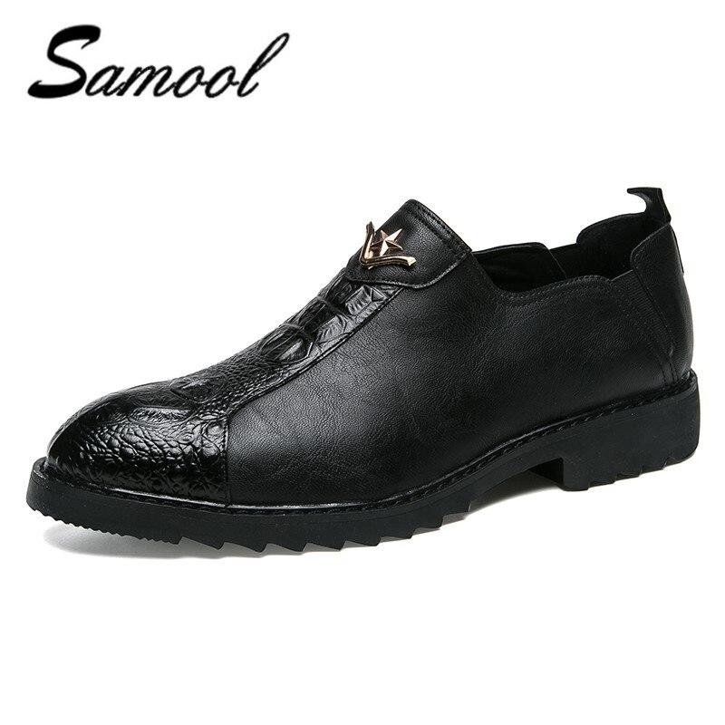 2018 Driving Shoes Genuine Leather Men Casual Shoes Big Size Business Men Dress Shoes Genuine Leather 2018 Mens Shoes CX4