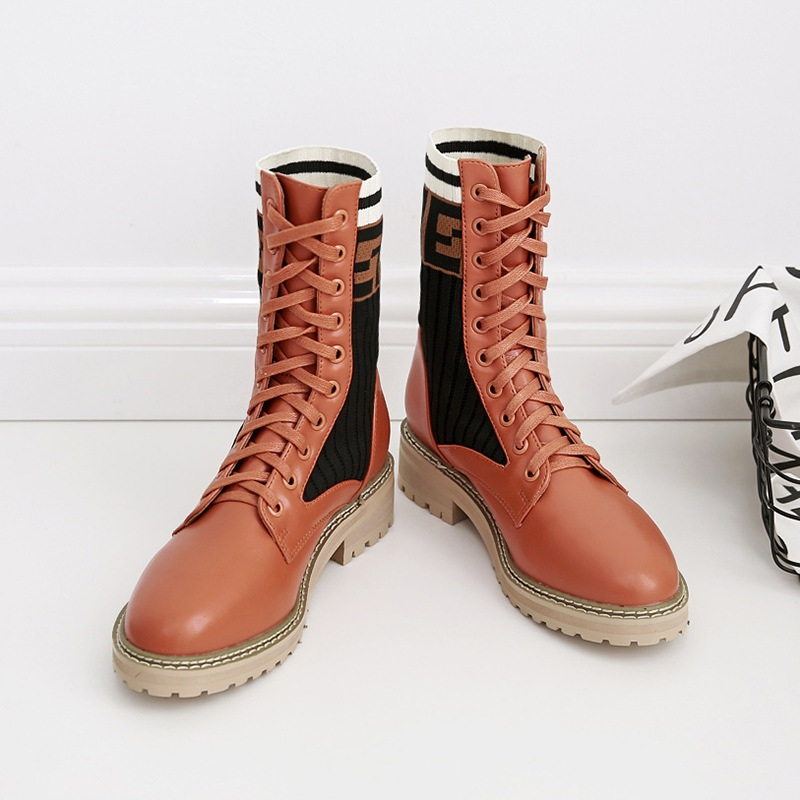 Europe and the United States 2018 autumn and winter wild foreign trade models in the tube womens boots brwon 1129Europe and the United States 2018 autumn and winter wild foreign trade models in the tube womens boots brwon 1129
