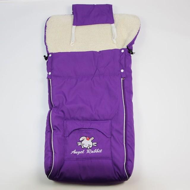 1 Pc/lot  Warm Envelope for Newborn Baby Stroller Fleece Sleeping Bag Footmuff Sack Infant Pushchair