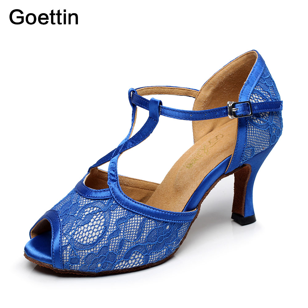 2017 New Brand Goettin 5005 High Quality Dance Shoes Kvinder Latin Sko Latin Dance Shoes kvinde