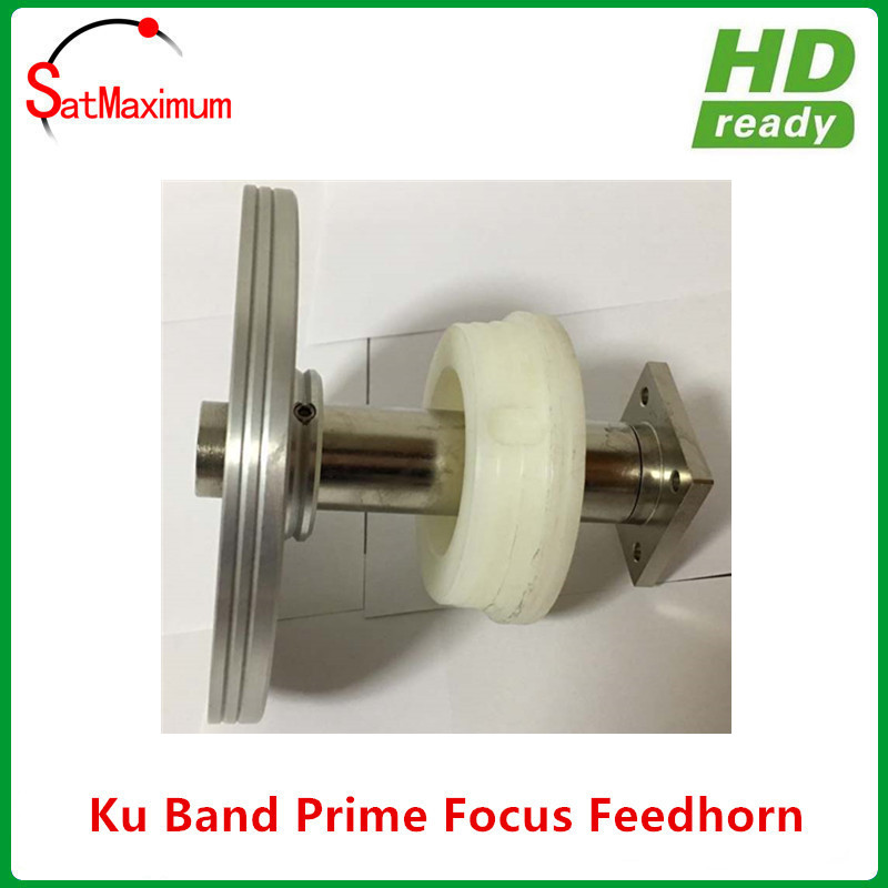 WR75 Waveguide Ku band Prime focus LNB feedhorn with 9 rings