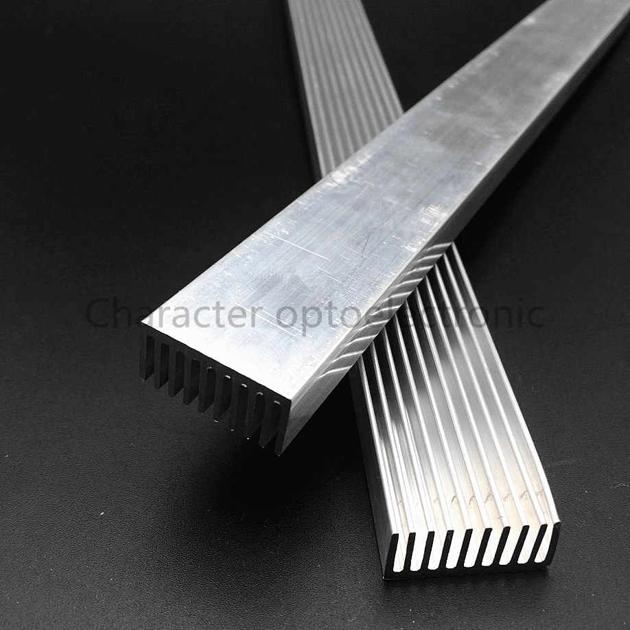1-10pcs/lot High Power LED aluminum Heatsink 300mm*25mm*12mm for 1W,3W,5W led emitter diodes