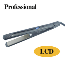 """High Quality Electric Flat Straightening Irons 1""""in Instant Styling Titanium Professional Salon Hair Curling Iron Dual Voltage"""