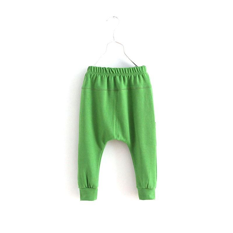 Dla dzieci Chłopcy Dzieci Dziecko Miękkiej Bawełny Jesień Dorywczo Spodnie Harem Spodnie Dna 2-7Y 5