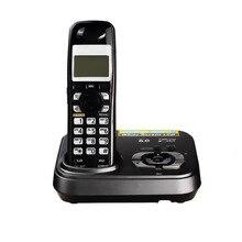 Английский цифровой беспроводной телефон с ответом systerm KX-TG9331T дома Беспроводной База станции беспроводной стационарный телефон для офиса