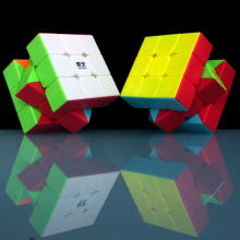 3x3x3 QiYi Warrior W Professional 3 Layers Magic Cube 3*3*3 Speed Puzzle Neo Anti-stress 5.7CM Cubo Magico