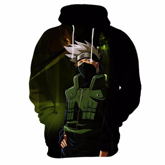 Naruto Hoodie 3D Full Printed