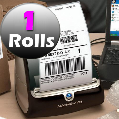 Factory Outlet 1 Rolls 1744907 Dymo Labels 4x6 Shipping Label