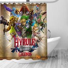 New The Legend Of Zelda Shower Curtain Bathroom Decorations For Home  Waterproof Fabric Curtain Shower Bath