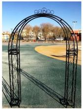 European wrought iron arch shelf lawn wedding flowers rose vine flower rack Korean door new props layout