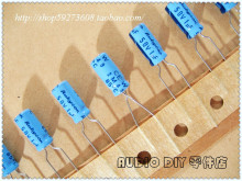 30PCS Rubycon Old Sky Blue TWSS (CEW) series 1uF/50V electrolytic capacitors free shipping