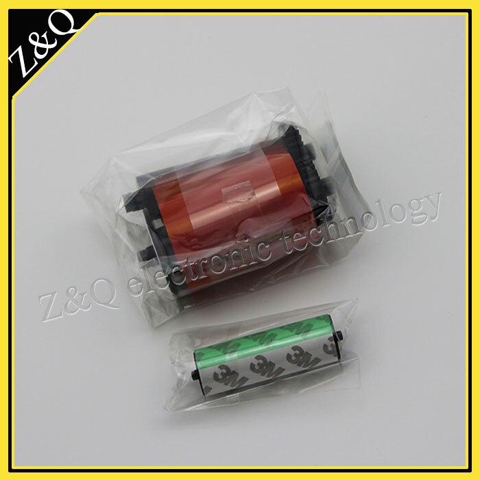 Eredeti IDP Smart 650664 SIADC-P-R piros szalag az 50d, 50s, 30s 50l - Irodai elektronika - Fénykép 2