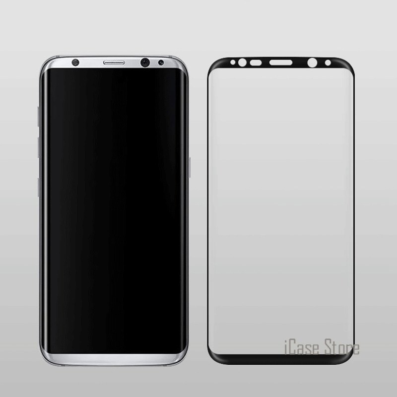 For Samsung S8 glass Galaxy S8 Tempered Glass For Samsung Galaxy S8 Plus Screen Protector Film 3D Full Cover S7 Edge Film