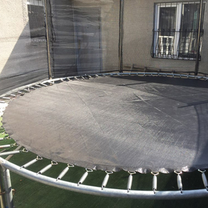 Image 5 - Trampoline jumping Mat High Elastic for kids indoor sport trampoline parts replacement  6/8/10/12/13/14/15/16 Feet
