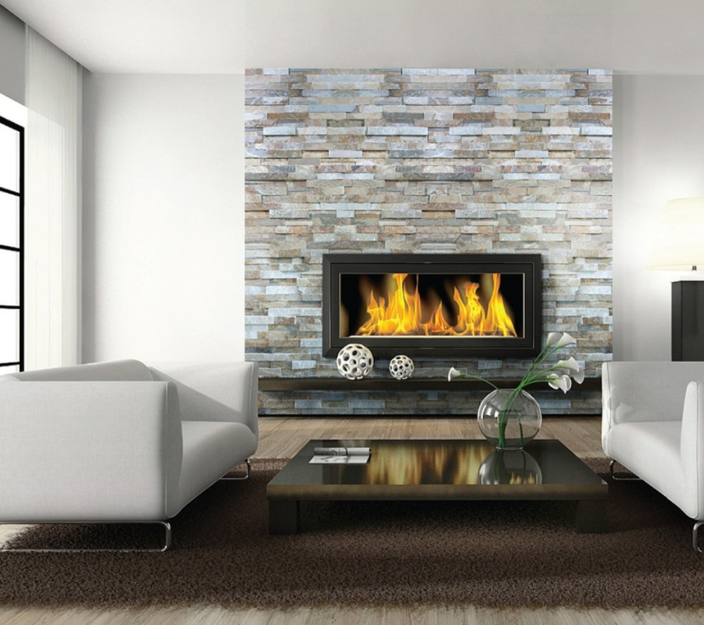 Inno-living 72 Inch Linear Fireplace Electronic Ethanol Burner With Remote Control