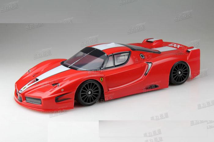 Ewellsold 002  1/10 Scale On-Road Drift Car Painted PVC Body Shell 190MM for 1/10 Remove controlled car 2pcs/lot free shipping