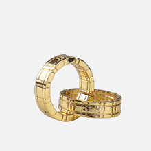 Free shipping Himber Ring Cool Style Stage Close Up Magic Trick gold color