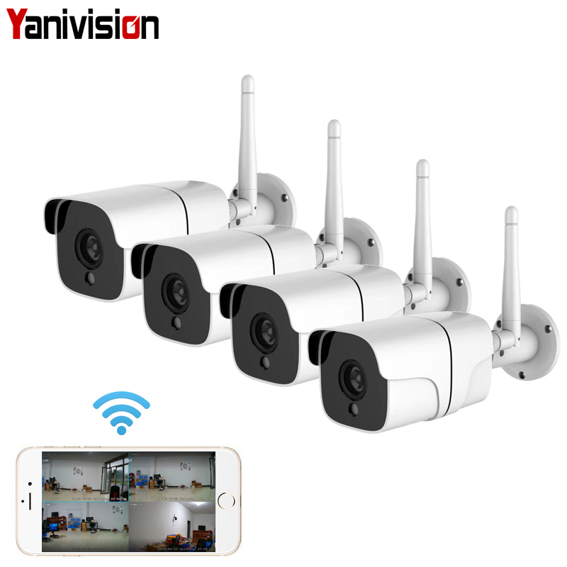 Wireless Security Camera System 1080P IP Camera Wifi SD Card Outdoor 4CH Audio CCTV System Video Surveillance Kit CamaraWireless Security Camera System 1080P IP Camera Wifi SD Card Outdoor 4CH Audio CCTV System Video Surveillance Kit Camara