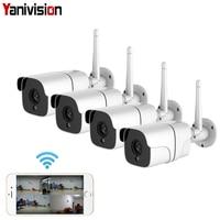 Wireless Security Camera System 1080P IP Camera Wifi SD Card Outdoor 4CH Audio CCTV System Video Surveillance Kit Camara