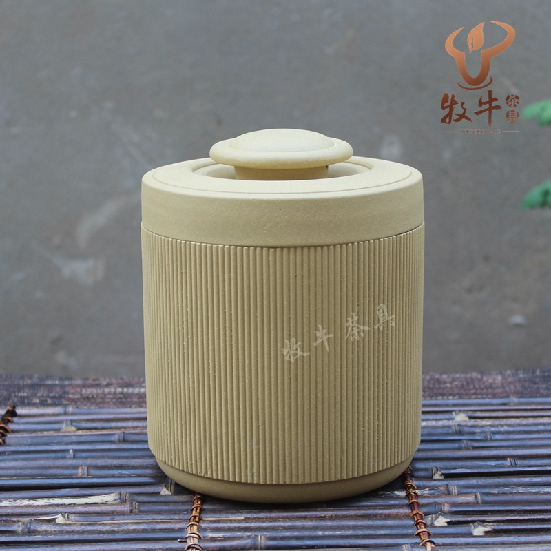 The direct origin of Yixing Zisha tea jar tea gift set LOGO Custom Shop collocation mixed batch yixing zisha tea caddy authentic fine workmanship high grade tea pot square box mixed batch