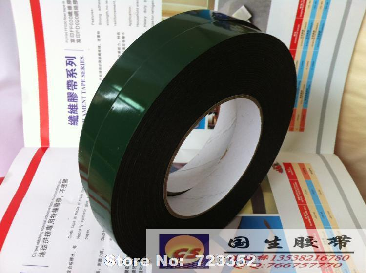Attractive PE wall hook special foam double sided adhesive tape green film  OL78