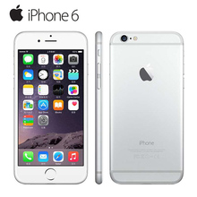 """Разблокирована оригинальный Apple iPhone 6 мобильный телефон 4.7 """"8.0 МП камера Dual Core 16/64/128 ГБ ROM GSM WCDMA использовать телефон"""