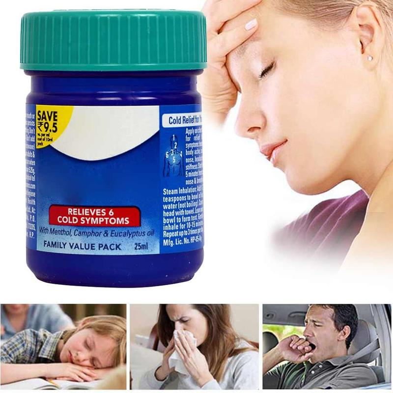 1pc Cool Mint Cream Itching Nasal Congestion Cold Headache Relief Ointment Anti-heatstroke Anti-mosquito Menthol Essential Balm