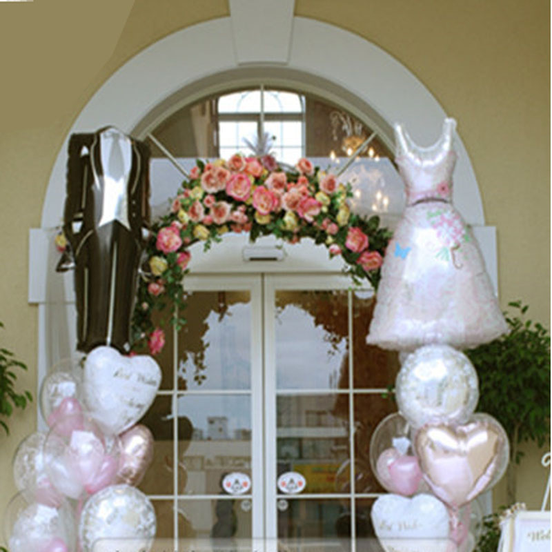 Aliexpress Buy 2pcslot Oversized Balloons Cartoon Bride